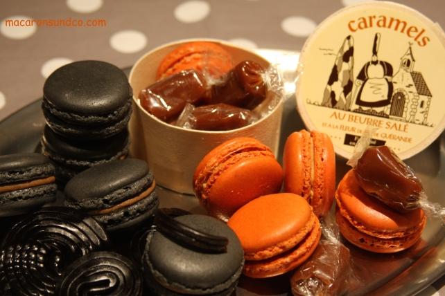 Macarons réglisse et caramel IMG_1995