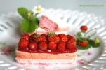 Biscuit rose rhubarbe fraises des bois IMG_2997