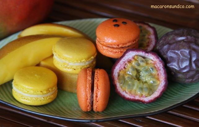 Macarons mangue passion IMG_3029